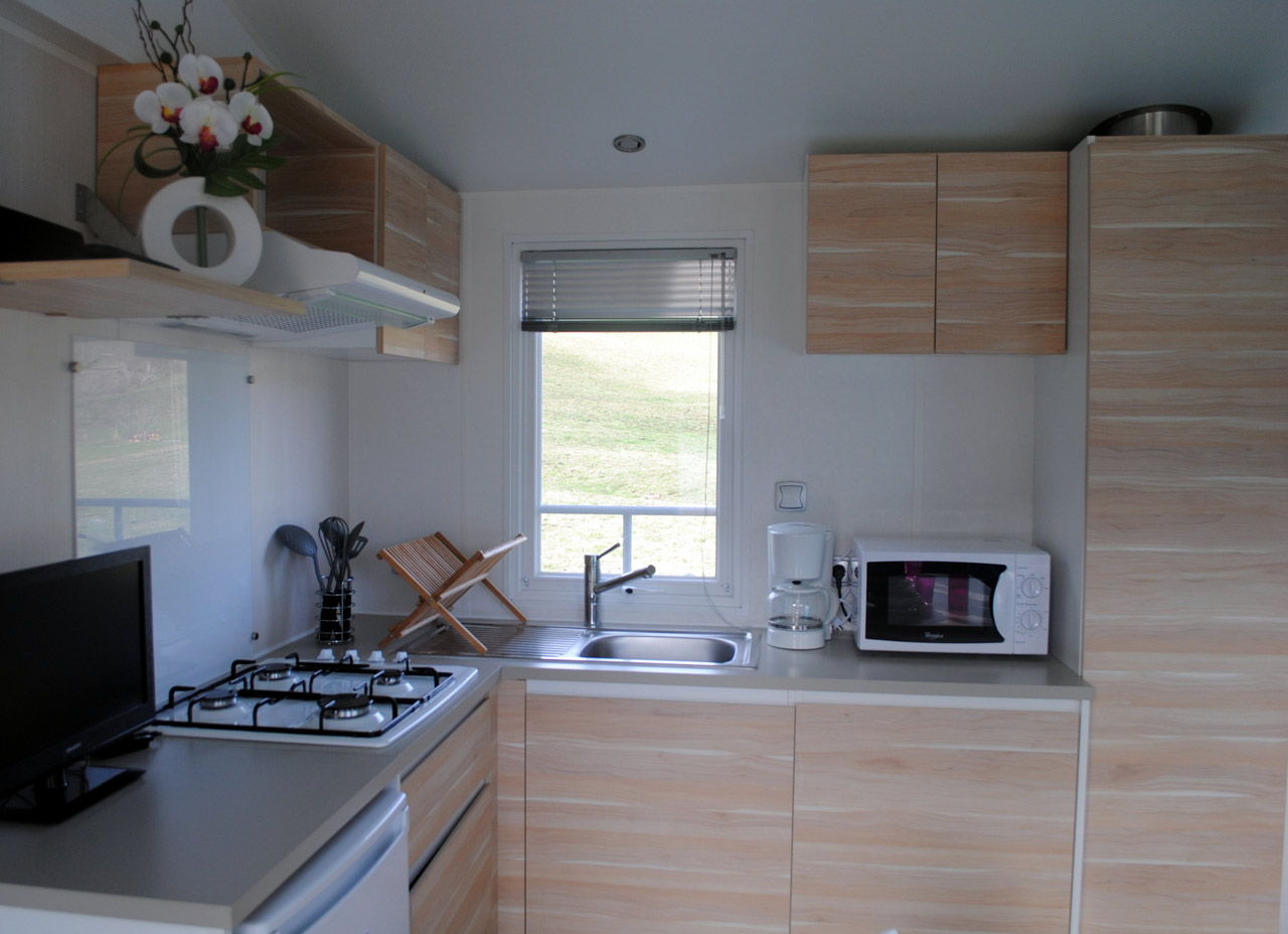 Mobil-home 2 chambres 4 / 6 personnes