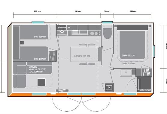 plan cottage Premium